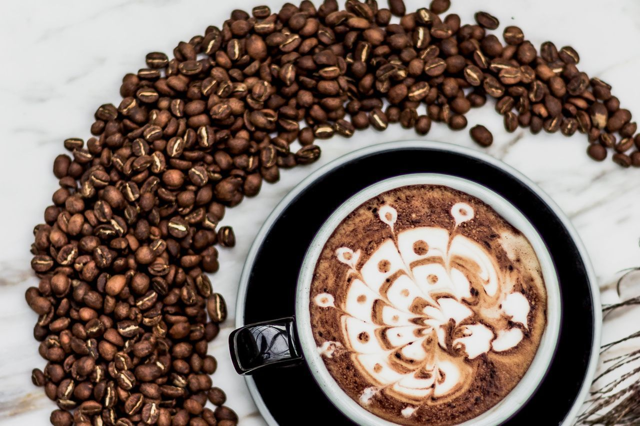 Coffee Coffee Drink Food And Drink Roasted Coffee Bean Still Life Drink Refreshment Food Freshness Coffee Cup Brown Indoors Cup Mug Food
