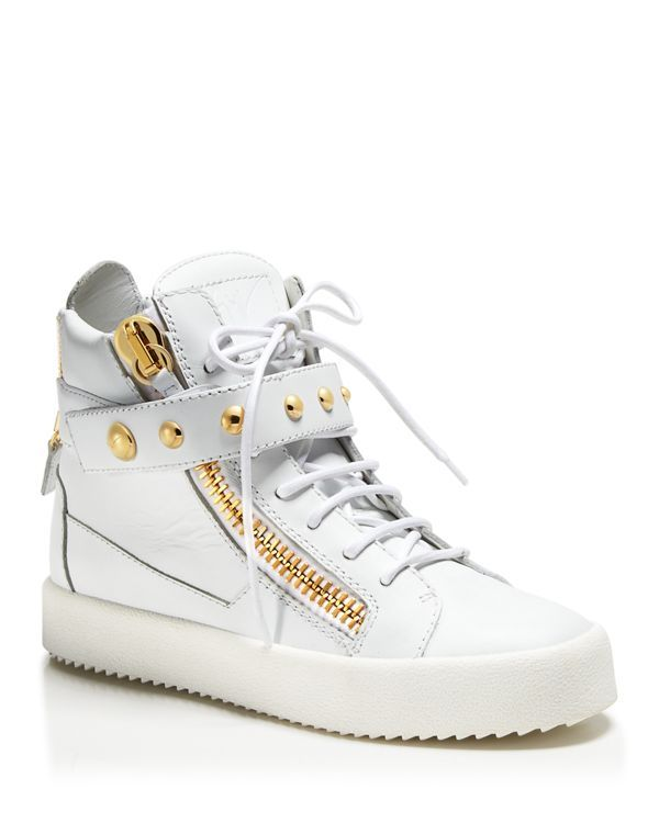 Beige May London High-Top Sneakers Giuseppe Zanotti rAYX52