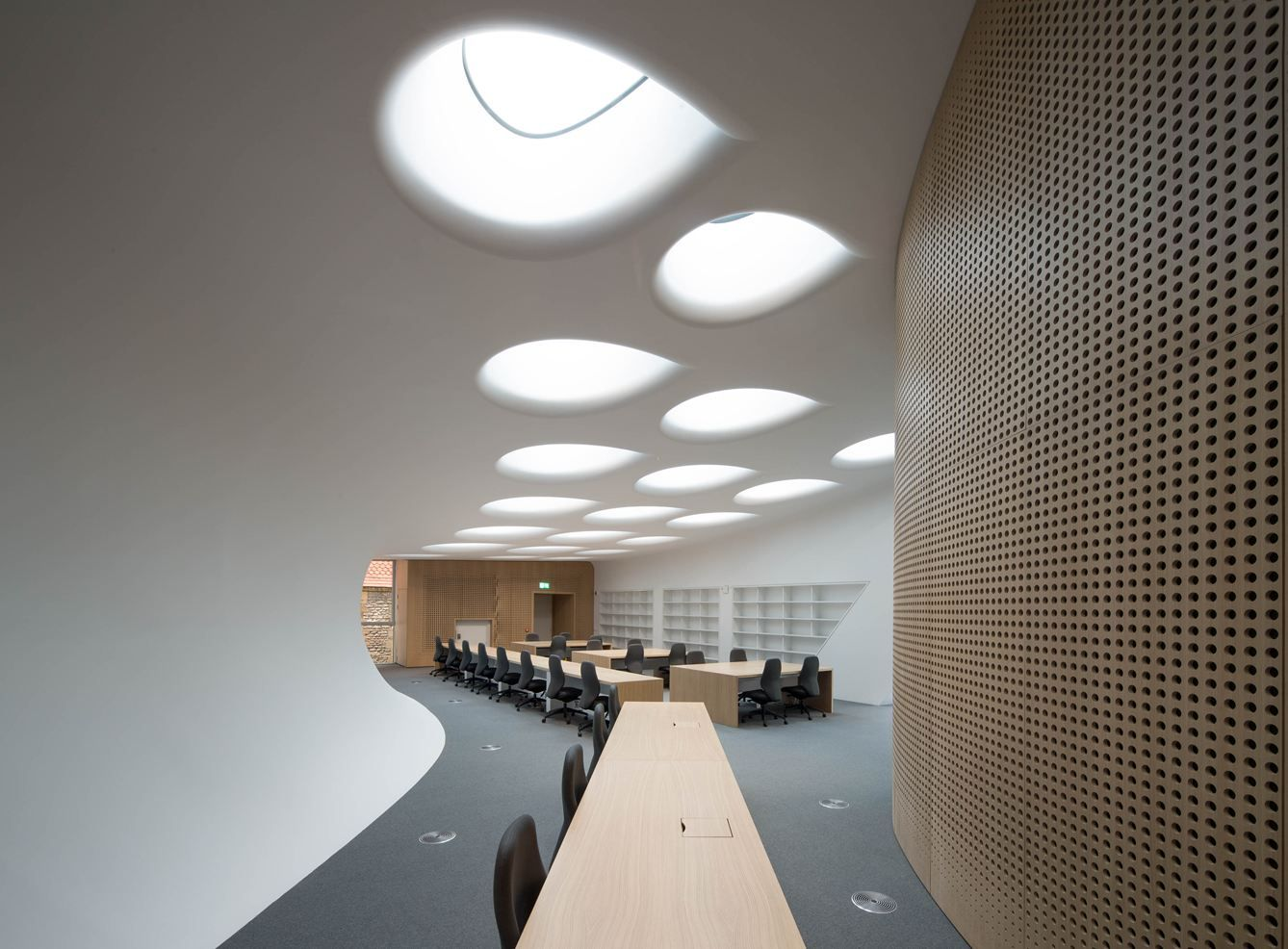 Innenarchitektur College The Investcorp Building For Oxford University S Middle East