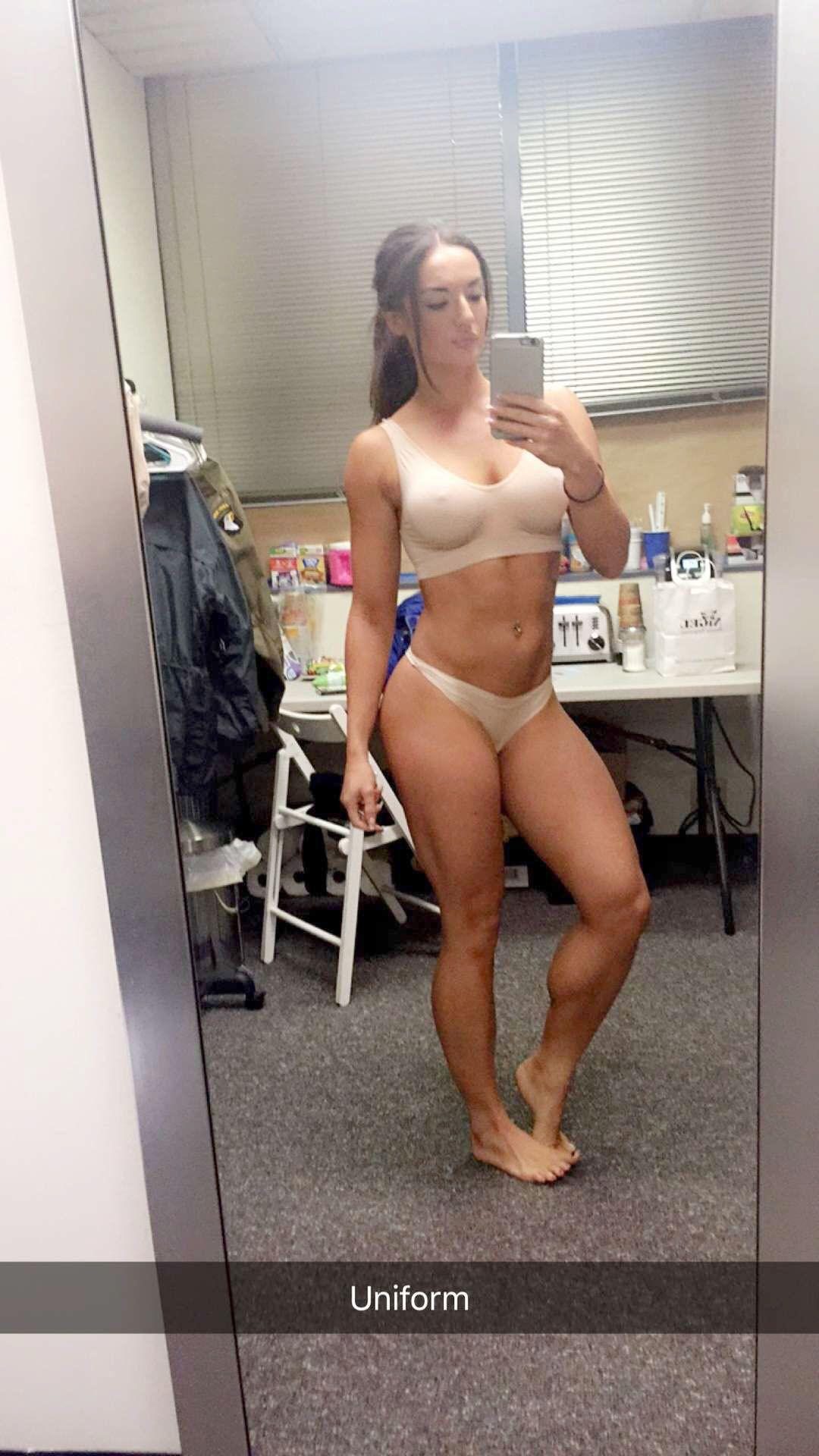 Naked girl in talk show