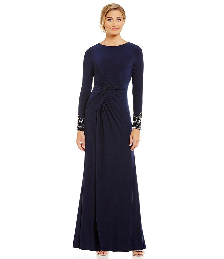 Vince Camuto Beaded Cuff Gown | Mother of bride | Pinterest | Vince ...