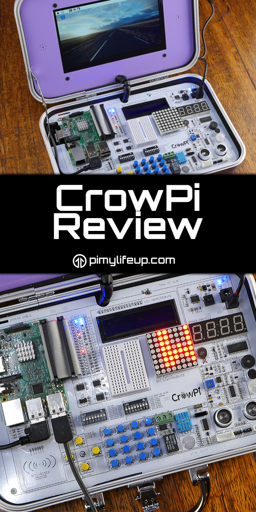 CrowPi Review - All in one STEM Education Device | Arduino