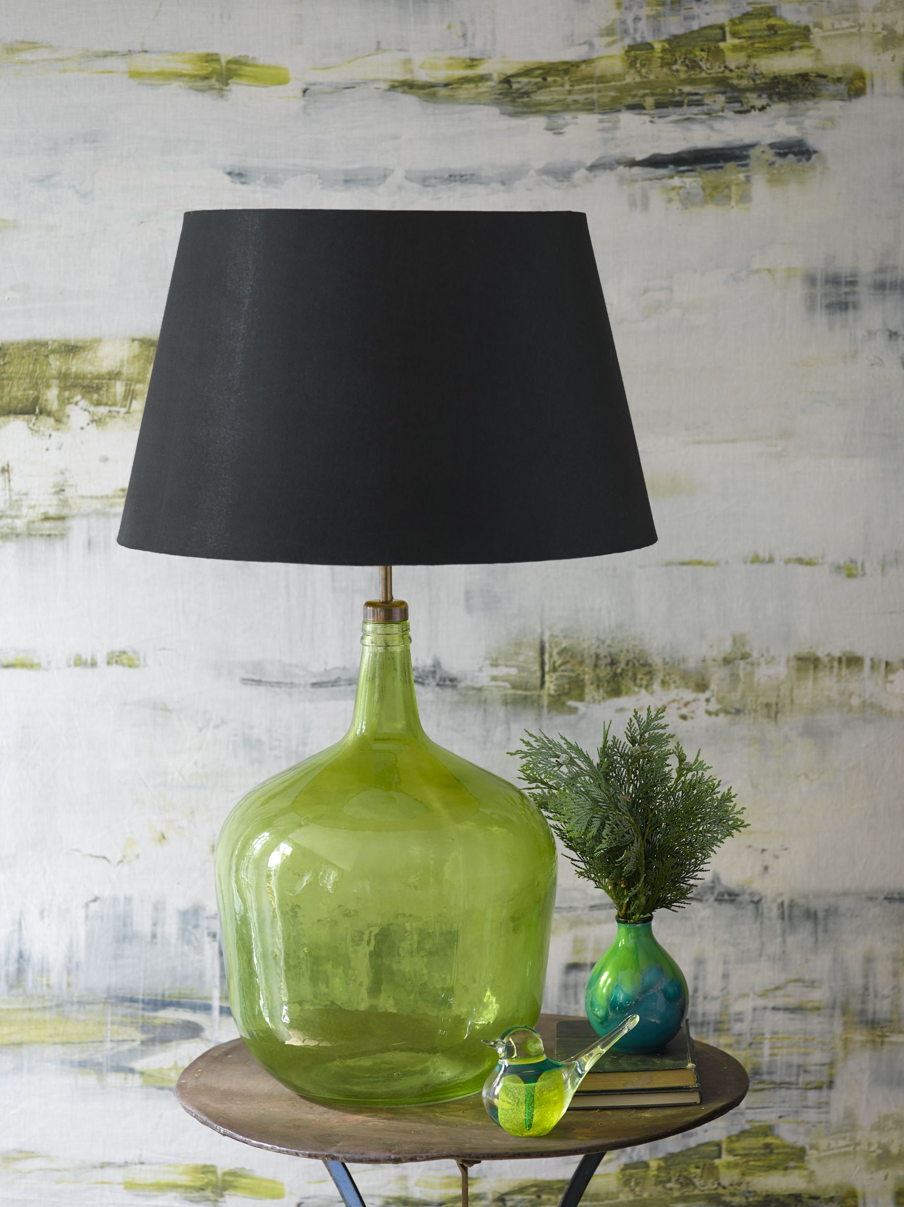 ceramic h with living astounding salegreen lamp mini room for inspirational lamps shade chaingreen courtney hunter photo shadegreen pull modern lampsgreen empire table blue shades green contemporary design