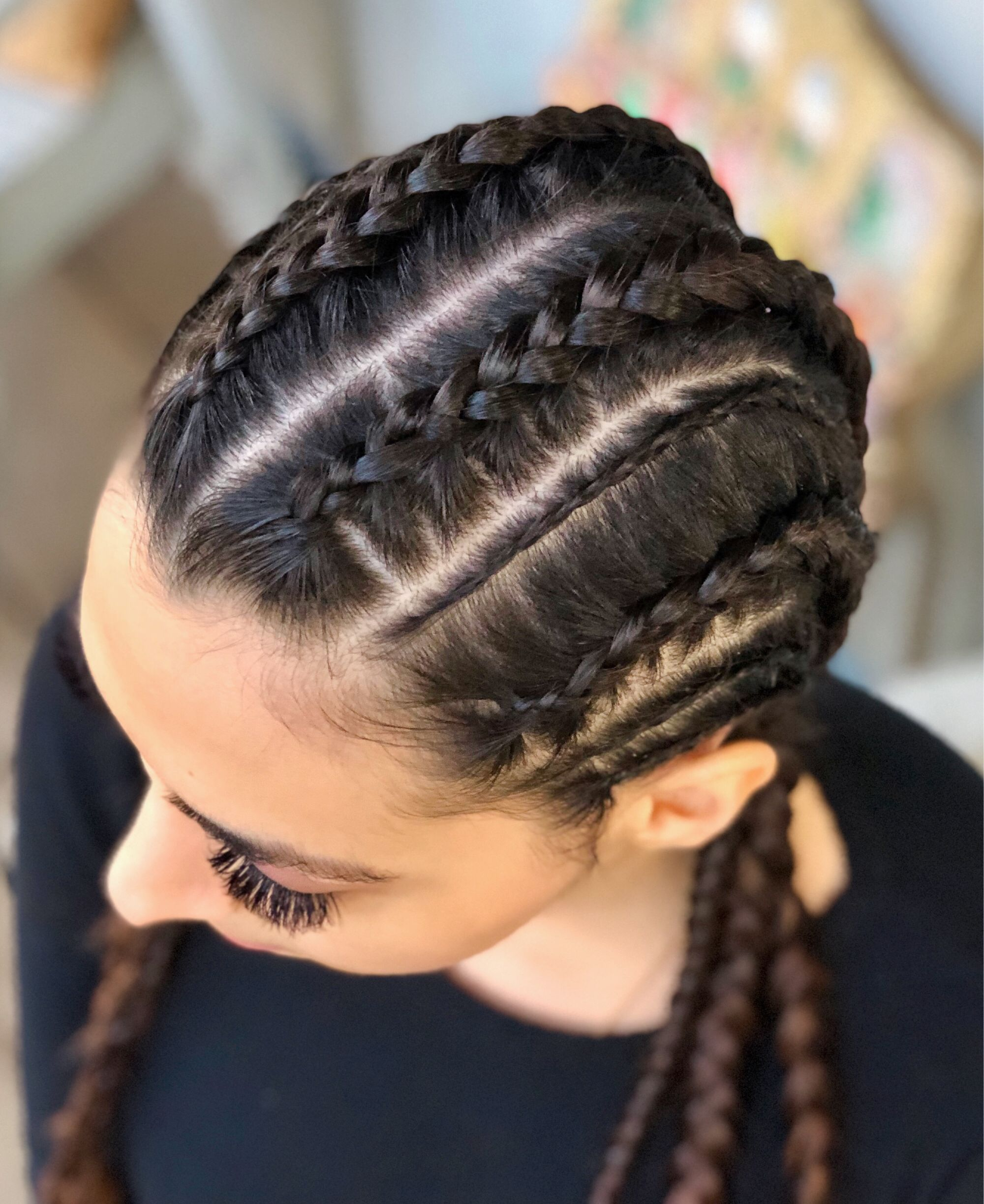 Cornrows With Long Hair
