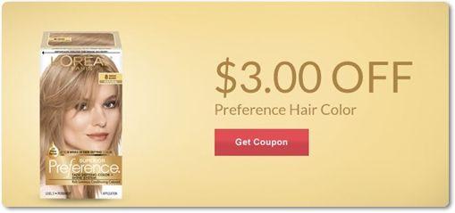loreal hair color coupon