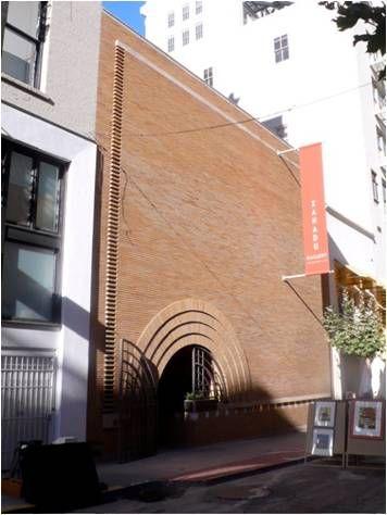Shoplifter Figure Of Shop Front Morris Gift Store San Fancisco 1912 Arch Fl Wright Frank Lloyd Wright Shop Facade Building