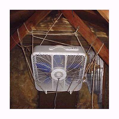 Home Inspection Nightmares V Home Inspection Attic Fan Attic Fans