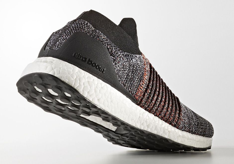 "e4f5ef82414  sneakers  news adidas Ultra Boost Laceless Pairs ""Oreo"" With Burnt Orange"