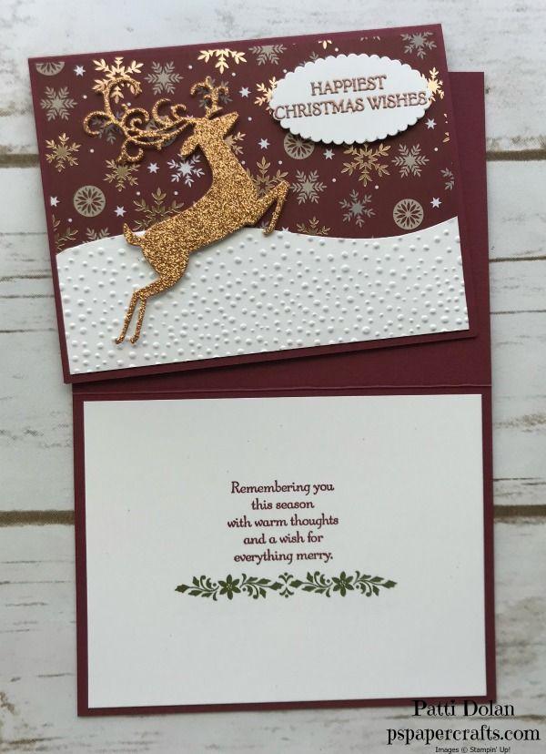 Joyous Noel Meets Dashing Deer — P.S. Paper Crafts