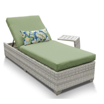 Fairmont 2 Piece Chaise Lounge Set with Cushion Fabric Cilantro - //  sc 1 st  Pinterest : 2 piece chaise lounge cushions - Sectionals, Sofas & Couches