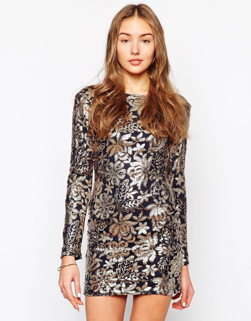 ASOS Club L Sequin Dress