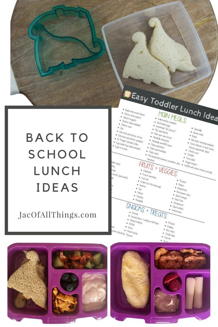 Easy Lunch Ideas (Food Kids Will Actually Eat!) (Free Printable ...