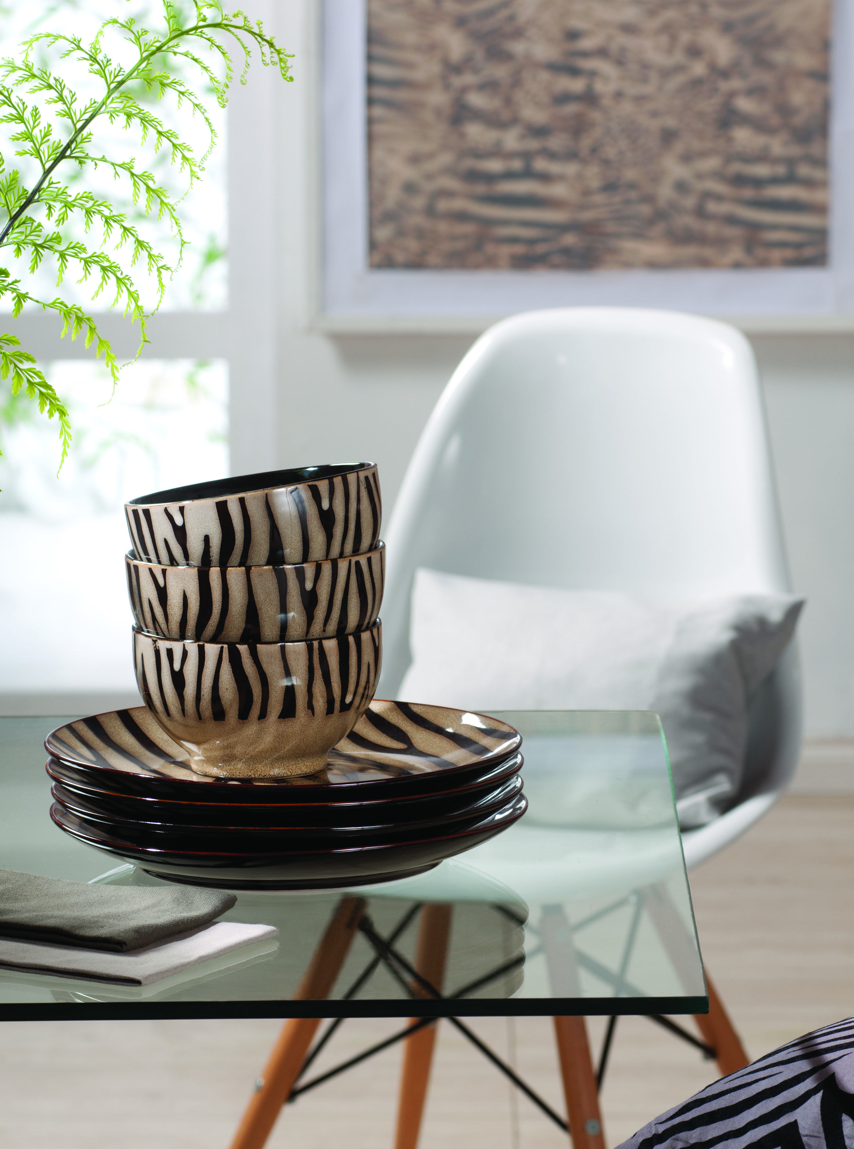 Combina el look de tu casa con la loza que ocupas para
