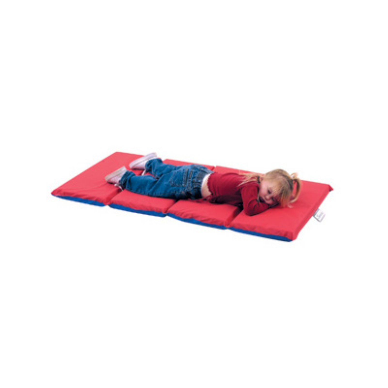 Children S Factory 4 Fold Rf Sealed Infection Control Mat Red Blue Nap Mat