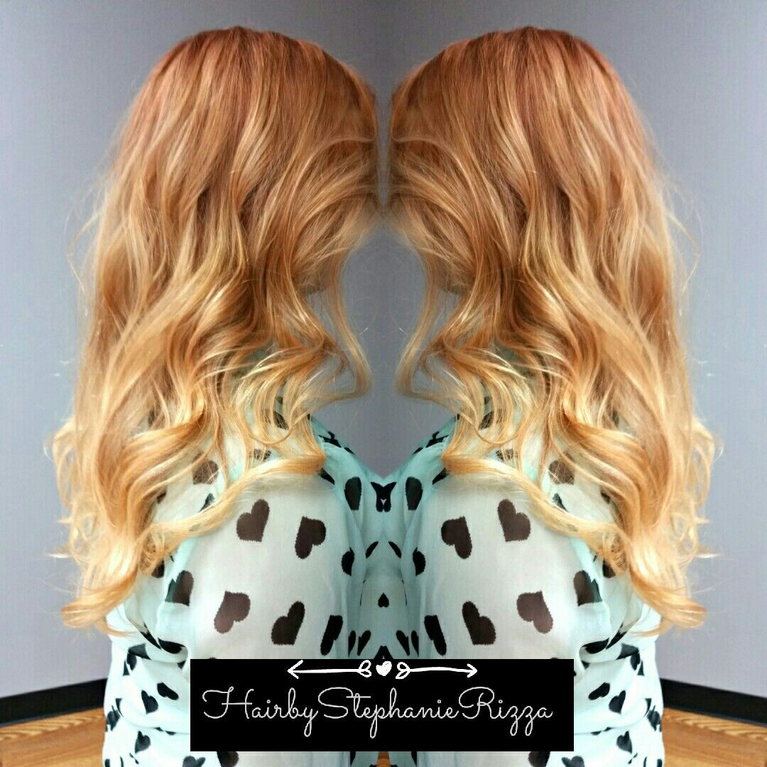 Strawberry Blonde ombre  Hair by Stephanie Rizza  Pinterest