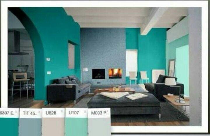 Pin De Rafaela Sl En Livingroom Casas Pintadas Interior Casas Pintadas Colores De Interiores