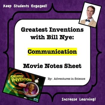 encourage students to focus and pay attention while watching greatest inventions with bill nye. Black Bedroom Furniture Sets. Home Design Ideas
