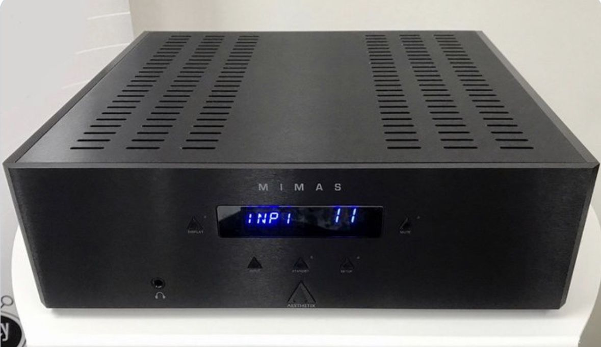 Aesthetix Mimas Integrated Amplifier A Non Negative Feedback Hybrid Easy Hifi Ocl 150w Rms By Transistor Electronic Projects Design With Per Ch In 8ohms Output It Has Optional Mm Mc Phono And Dac