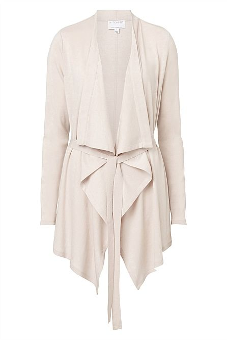 Baby wool Waterfall Cardigan | Shops, Woman clothing and Wool
