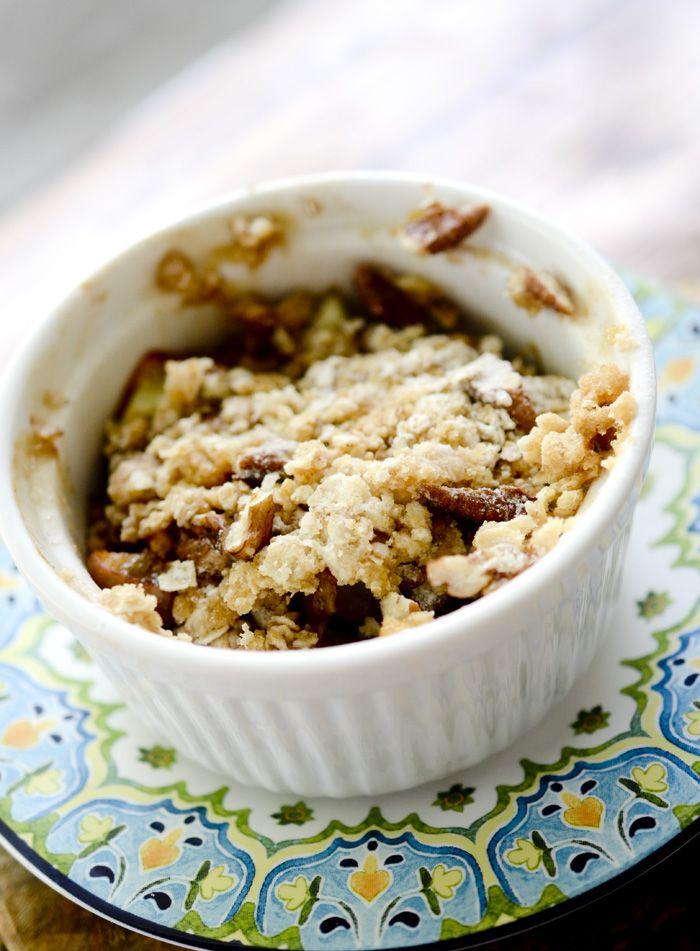 Individual Microwave Apple Crisp Recipe Diaries