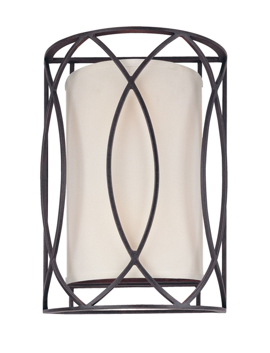 Troy Lighting Sausalito 2 Light Wall Sconce in Deep Bronze B1289DB | Troy Lighting by Lighting New York