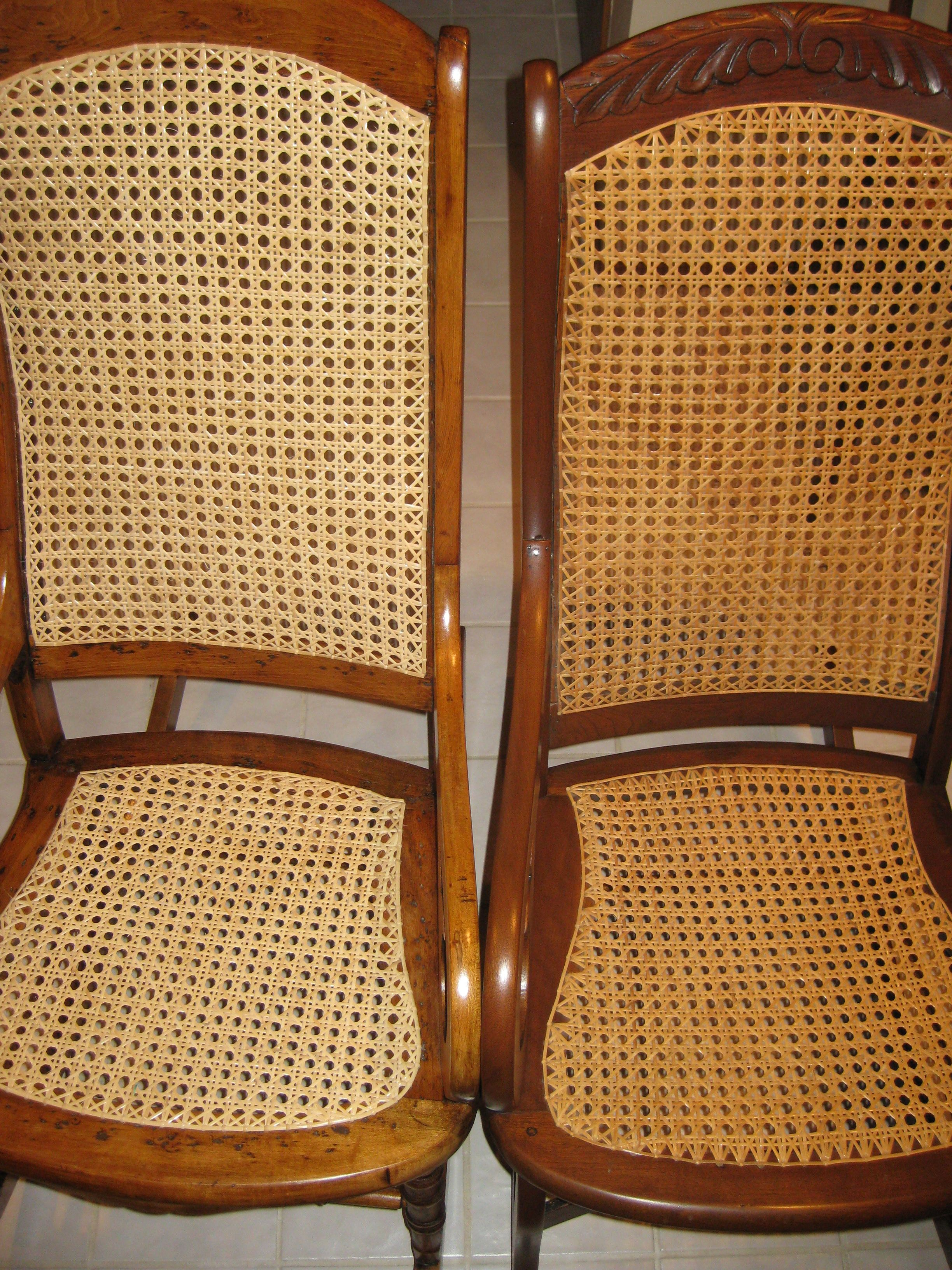 Repair Chair Seat Webbing Emil J Paidar Barber Parts Caning I Have 2 Chairs That Need The Re Caned