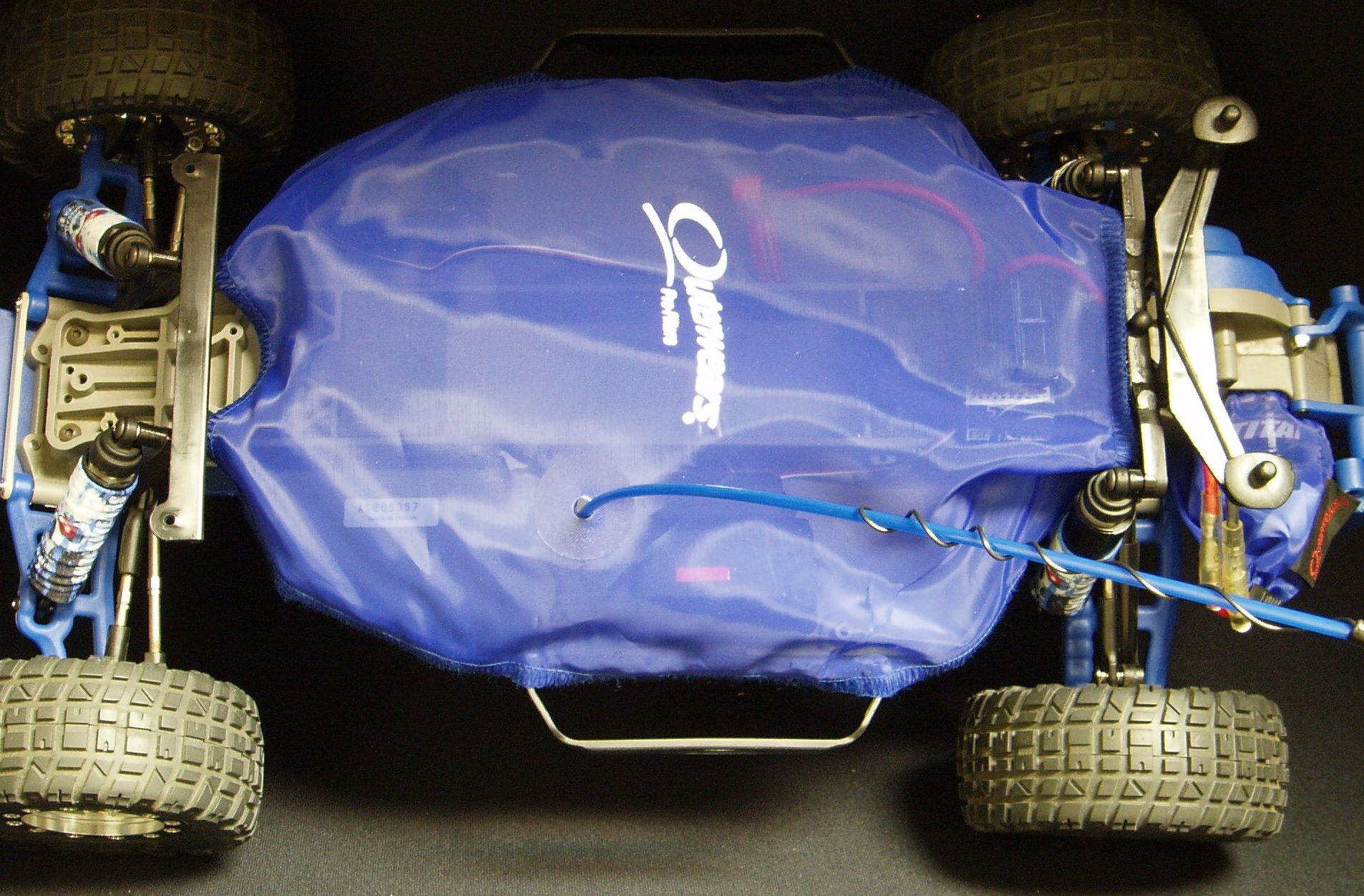 20-2591 Outerwears Pre-Filter chassis shroud for the Traxxas Slash 2wd.