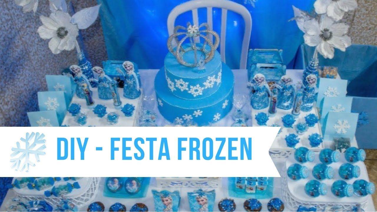 Diy Idéias Baratas De Lembrancinhas Para Festinha Da Frozen