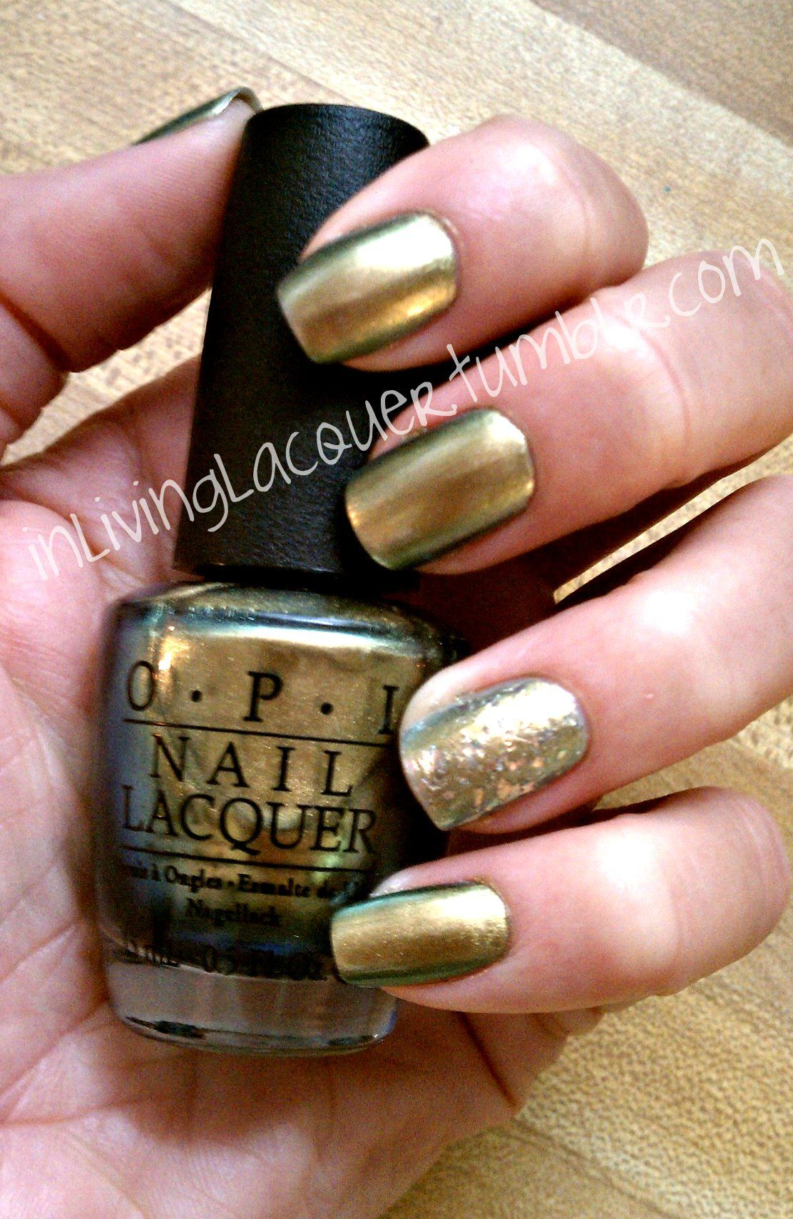 OPI\'s Just Spotted the Lizard (Spiderman Collection) + China Glaze\'s ...