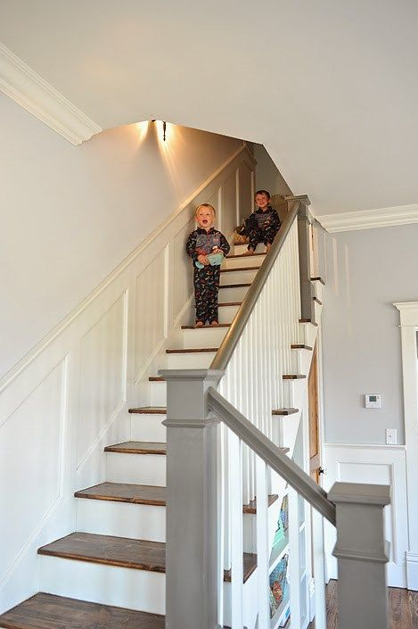 Painted Stair Case
