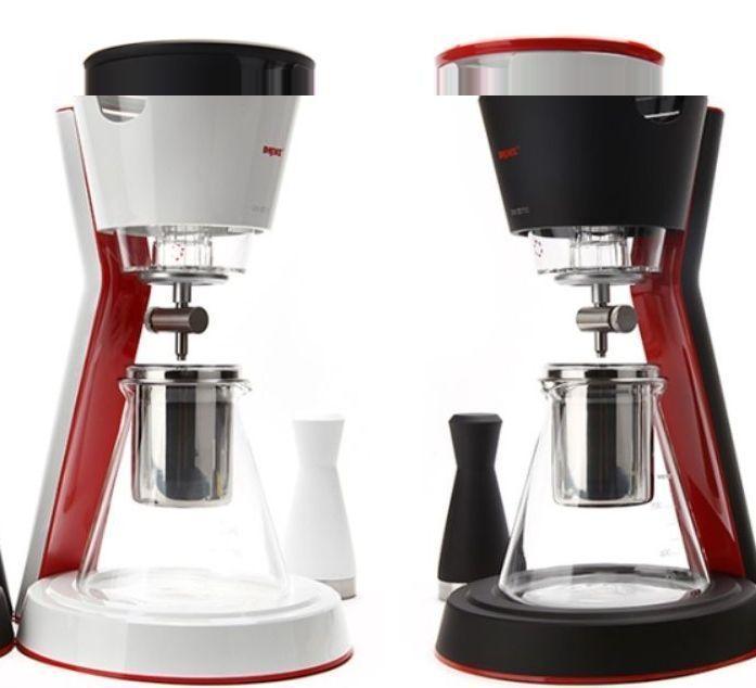 (White) Cold Brew Ice Coffee Maker Home Machine Water Drip ...