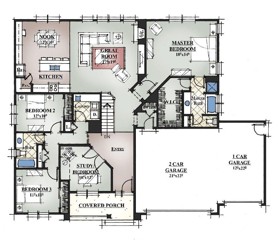 Create Custom House Plans in 2020 Custom home plans