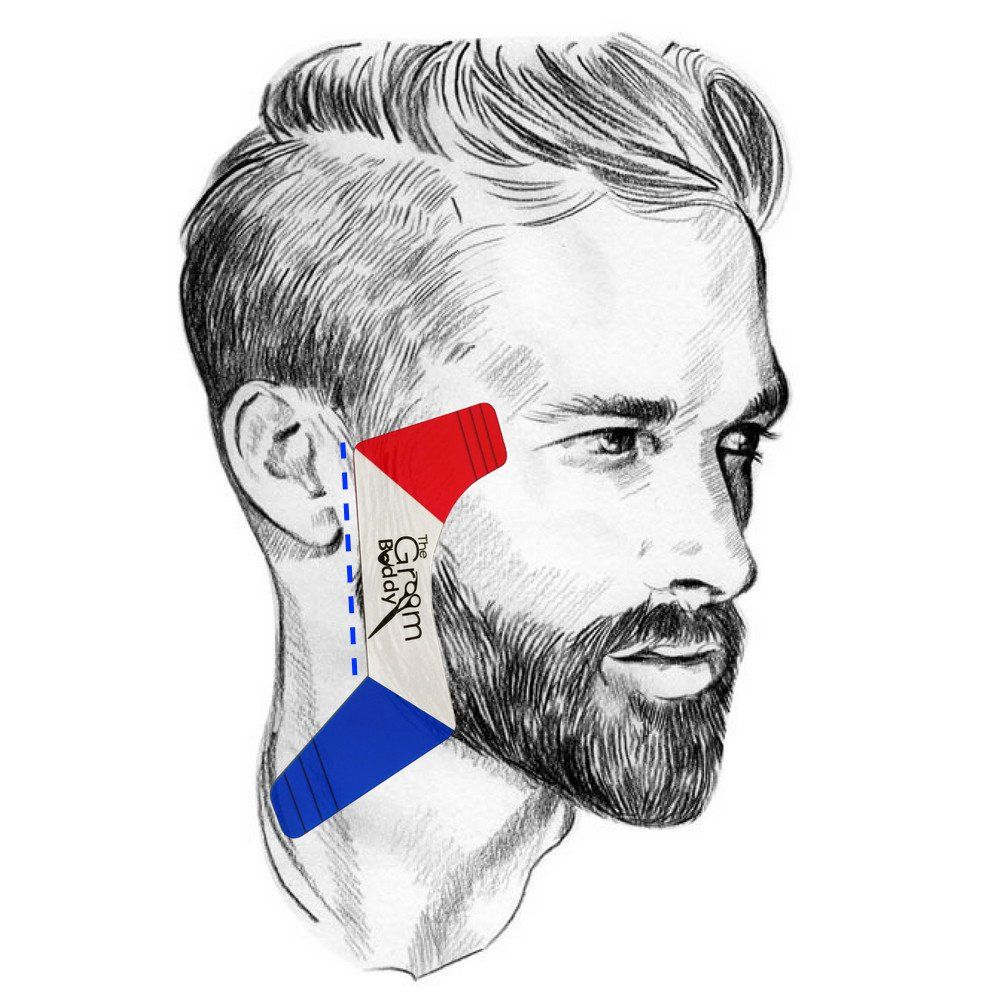 The Groom Buddy is a Patented is a patented maintenance edge up, line up, and shape up template for hairlines, beard, and moustache. Give yourself a perfect cut