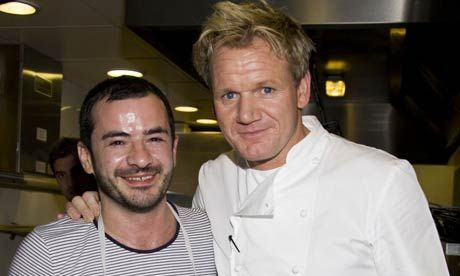 Gordon Ramsay And Gareth Mclean Celebrity Chefs Gordon Ramsay Chef Gordon Ramsay