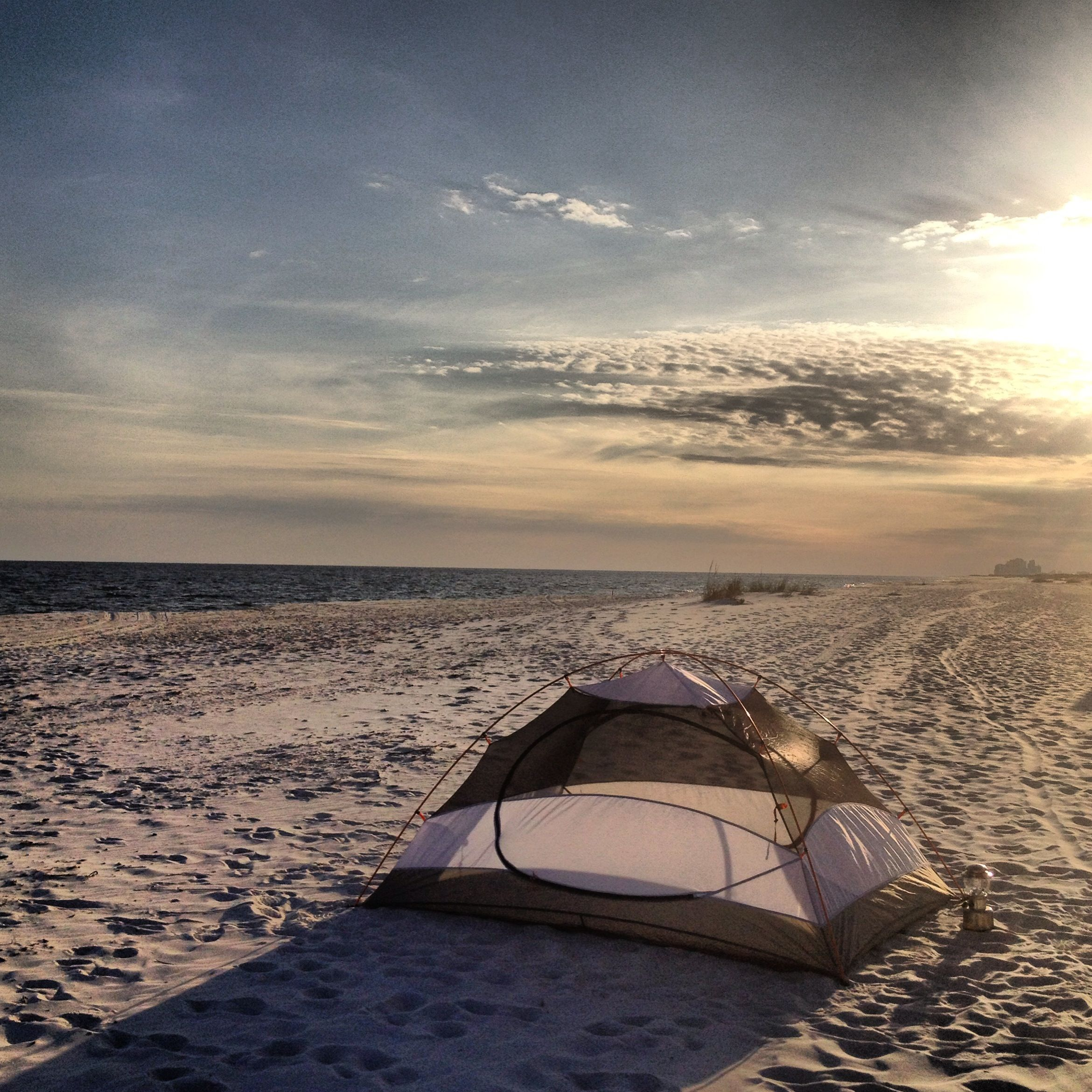 Primitive Beach Camping Perdido Key