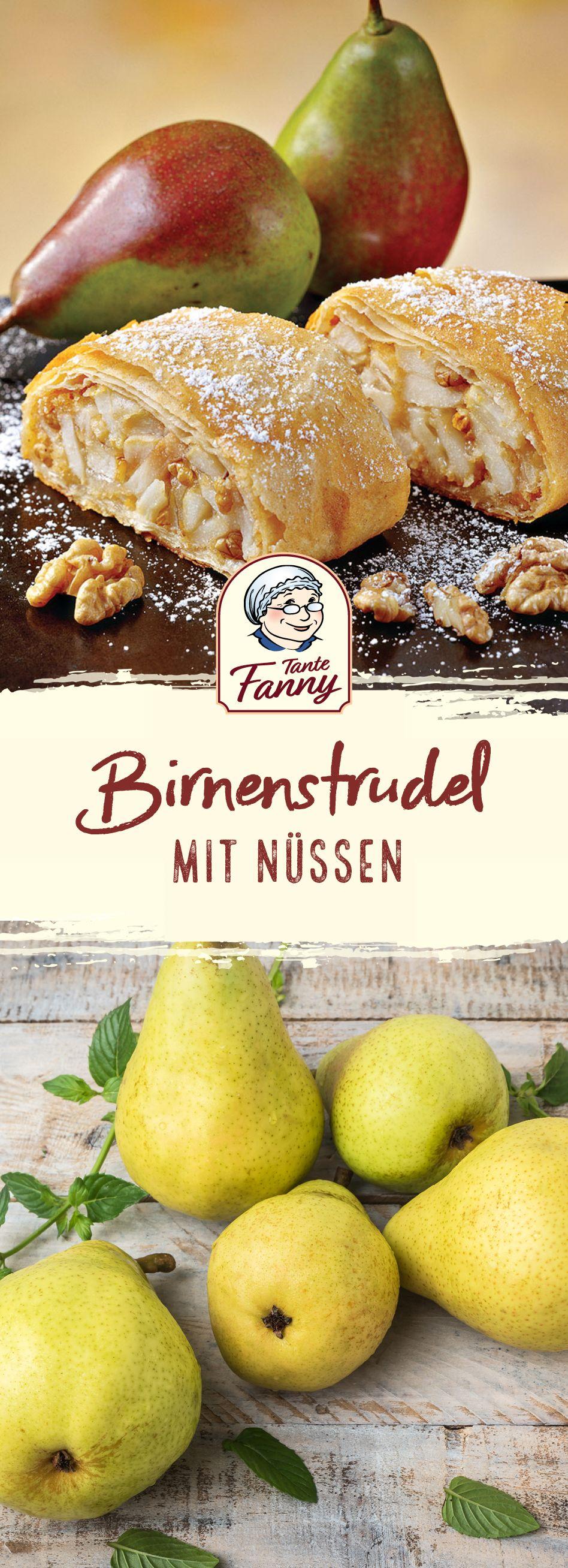 Warmer Birnenstrudel #herbstgerichte