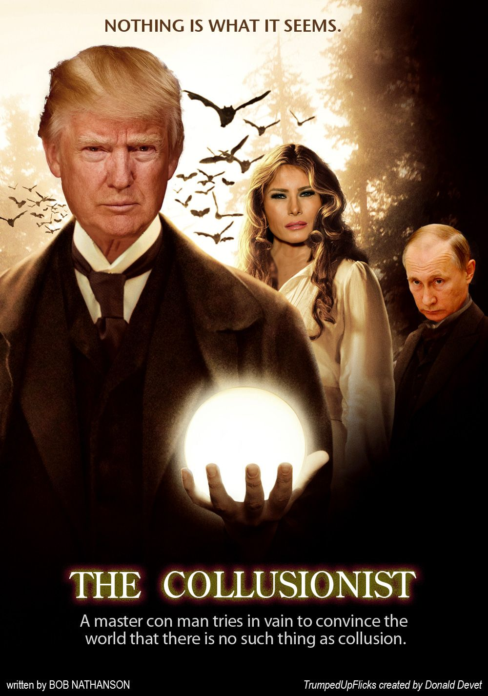 The Collusionist TrumpedUpFlicks The illusionist, Full