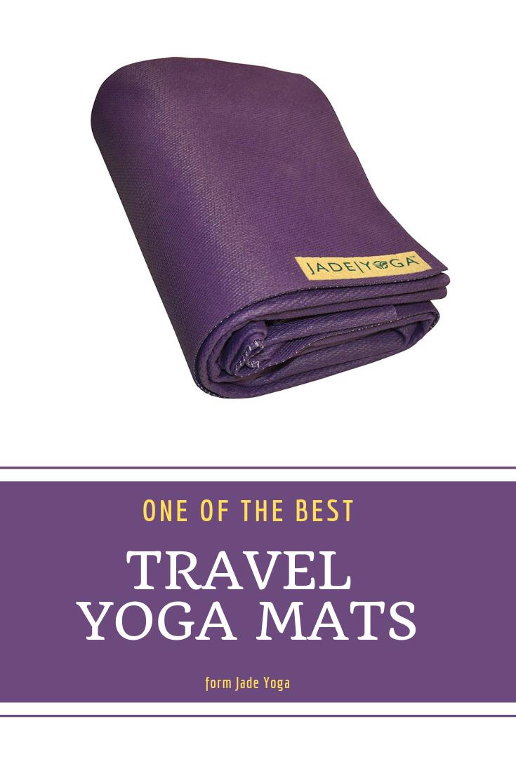 Travel Yoga Mat Purple Jade Travel Yoga Mat Jade Yoga Yoga