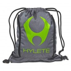 Stacked Expandable Drawstring Bag Slate Neon Green Bags Backpacks Bags Backpacks