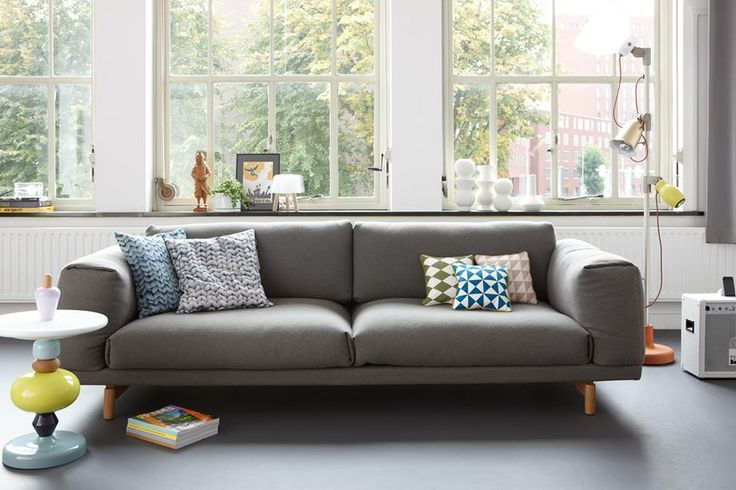 Muuto Rest Sofa : Pin by charlie able on int env temp living room inspiration