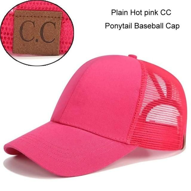 d001ba05 Ponytail Baseball Cap Snapback Messy Bun Caps For Women | Products ...