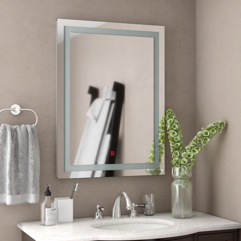 Byrne Led Wall Mirror Mirror Wall Bathroom Bathroom Vanity