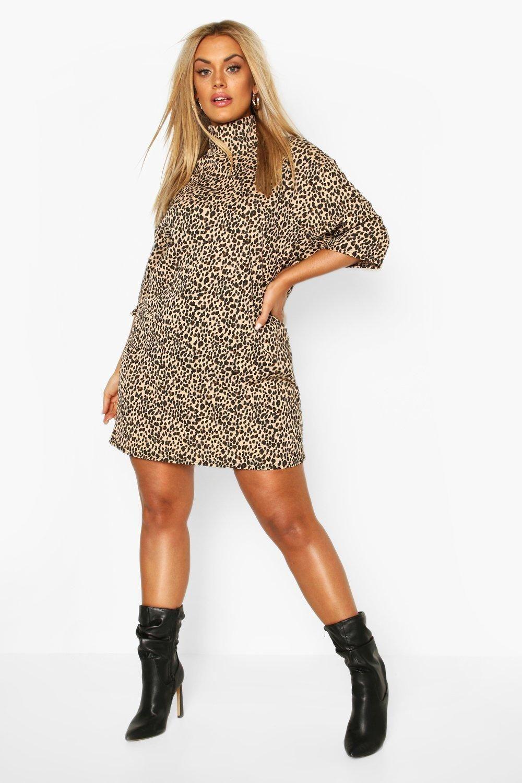 42++ Boohoo animal print shift dress trends