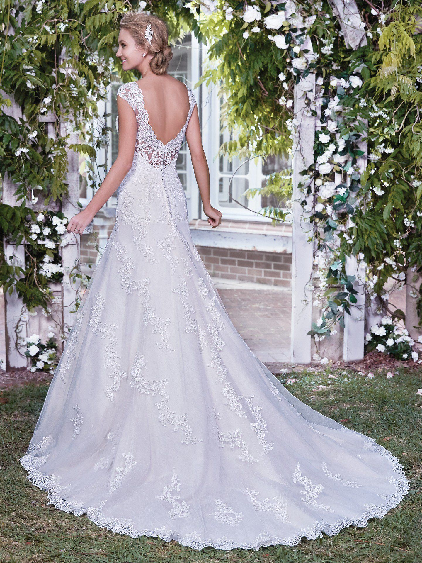 Wedding dresses under 2000  Rhonda lace illusion back  Available at Adore  adoreyourdress