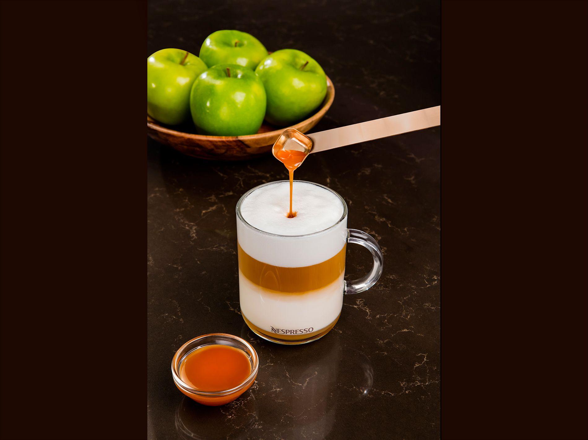 Caramel apple latte recipe caramel apples