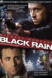 Black Rain 1989 Ridley Scott Black Rain Pioggia Sporca