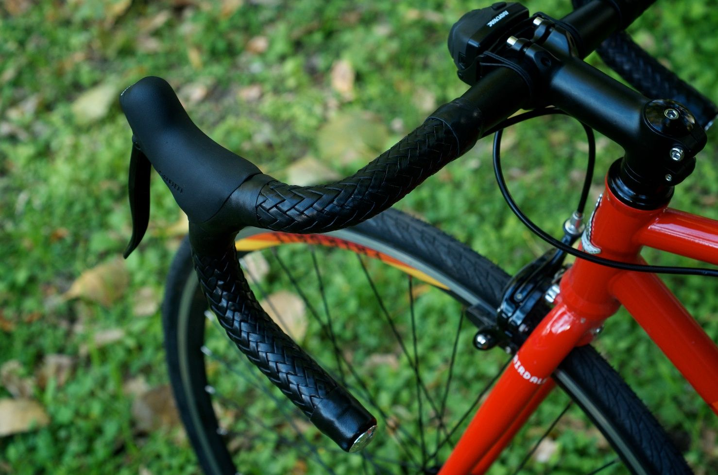 Twill Weave Carbon Fiber Drop Bar Bicycle Carbon Road Bike Handlebar Bar Tape