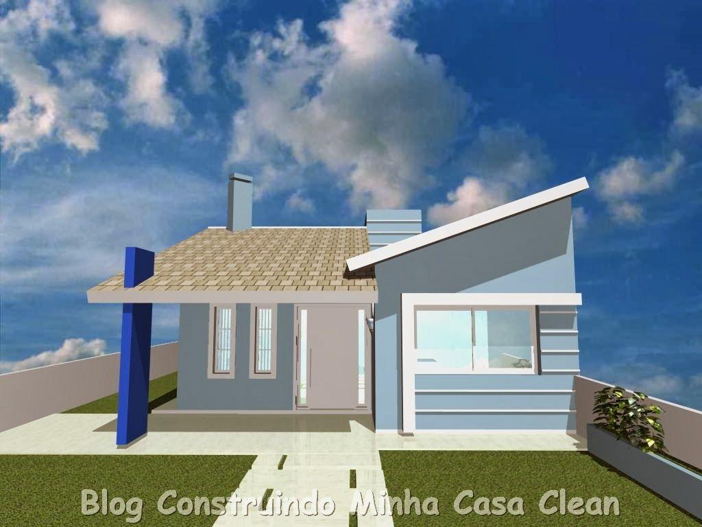 20 fachadas de casas pequenas e super modernas house