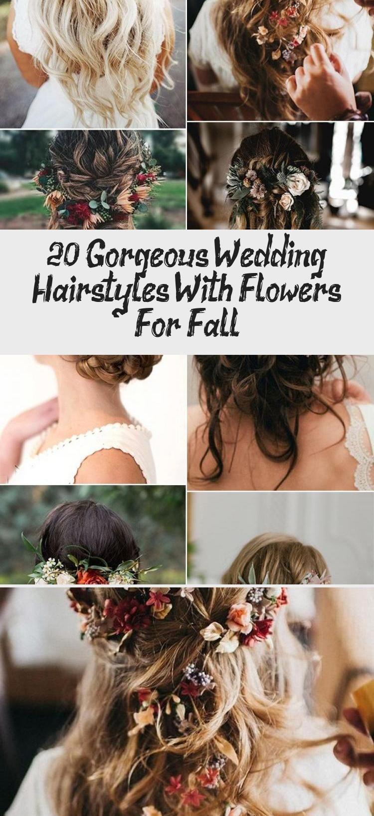 Photo of 20 wunderschöne Hochzeitsfrisuren mit Blumen für den Herbst – Beste Frisuren
