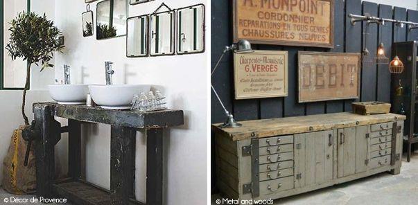 etablis vasque et robinet pinterest tablis robinets et tendance deco. Black Bedroom Furniture Sets. Home Design Ideas